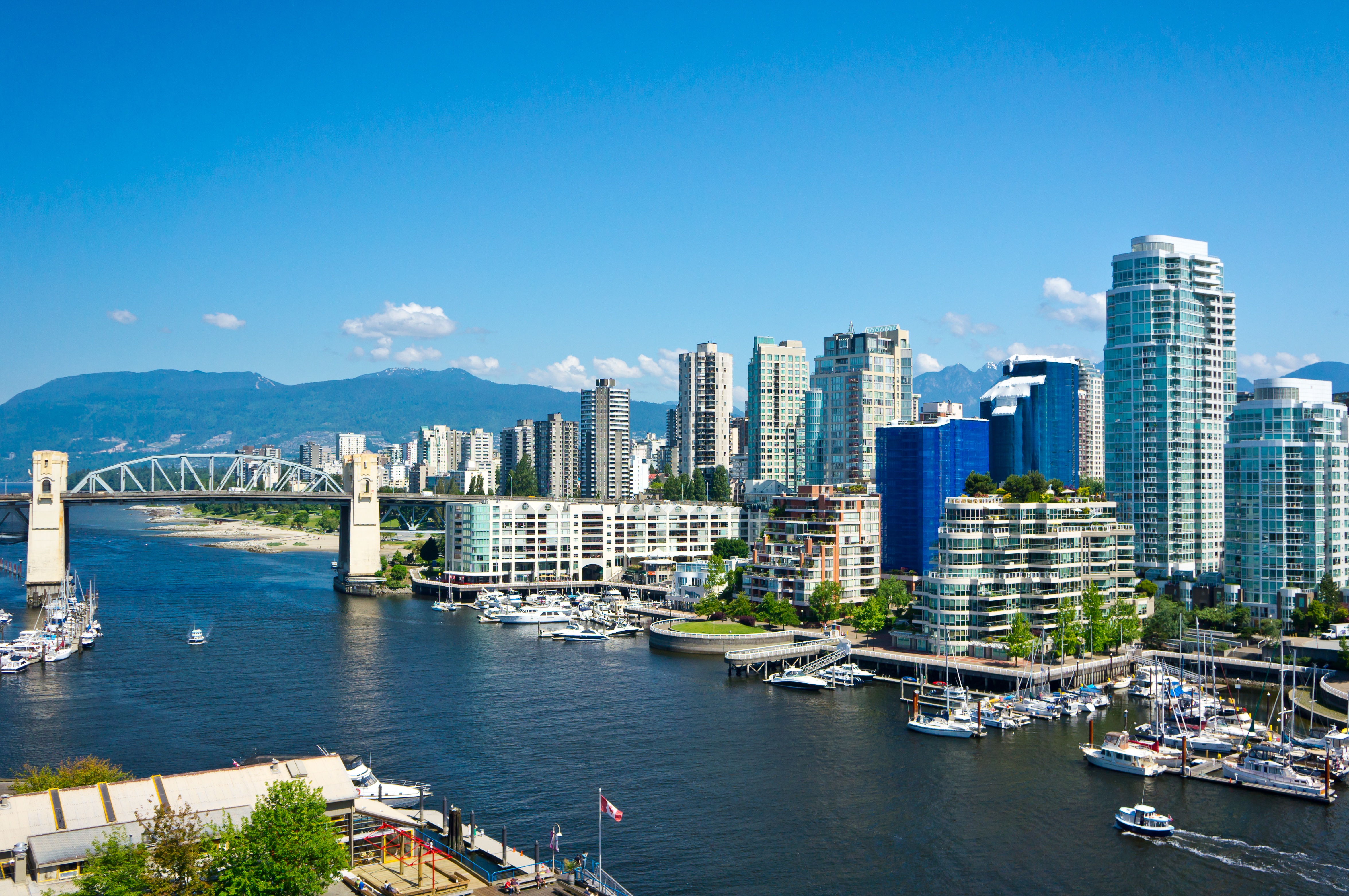 view of Vancouver BC