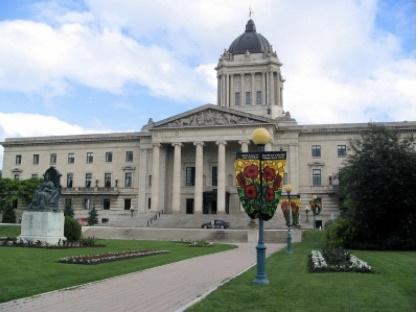 An image of the Manitoba Legislative Building.
