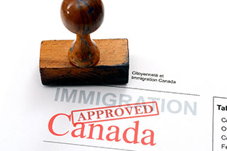Canadian approval stamp