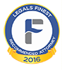 Legals Finest Recommended Law Firm 2015 & 2016
