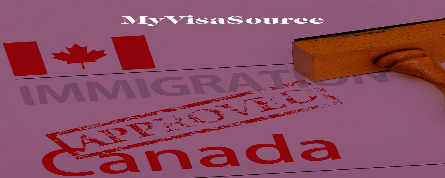 approved immigration canada application form with rubber stamp my visa source