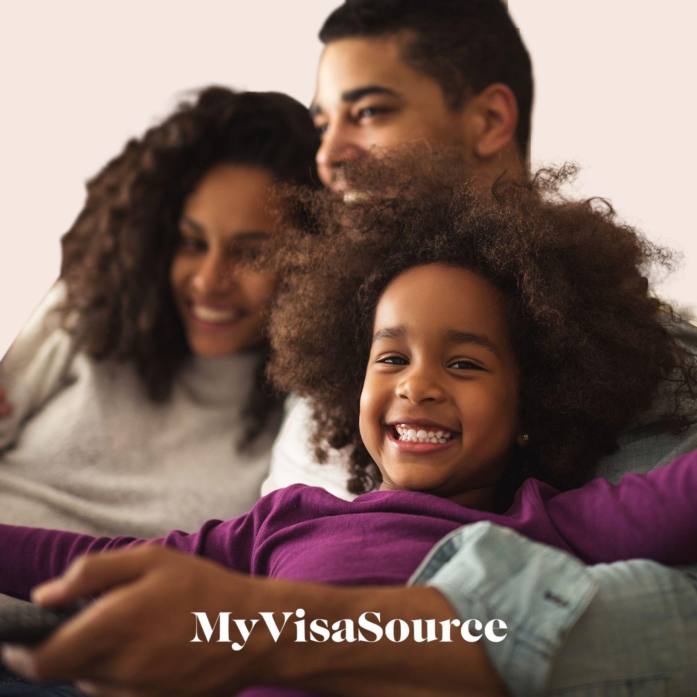 beautiful ethnic family of three my visa source