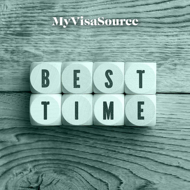 best time spelled with blocks my visa source