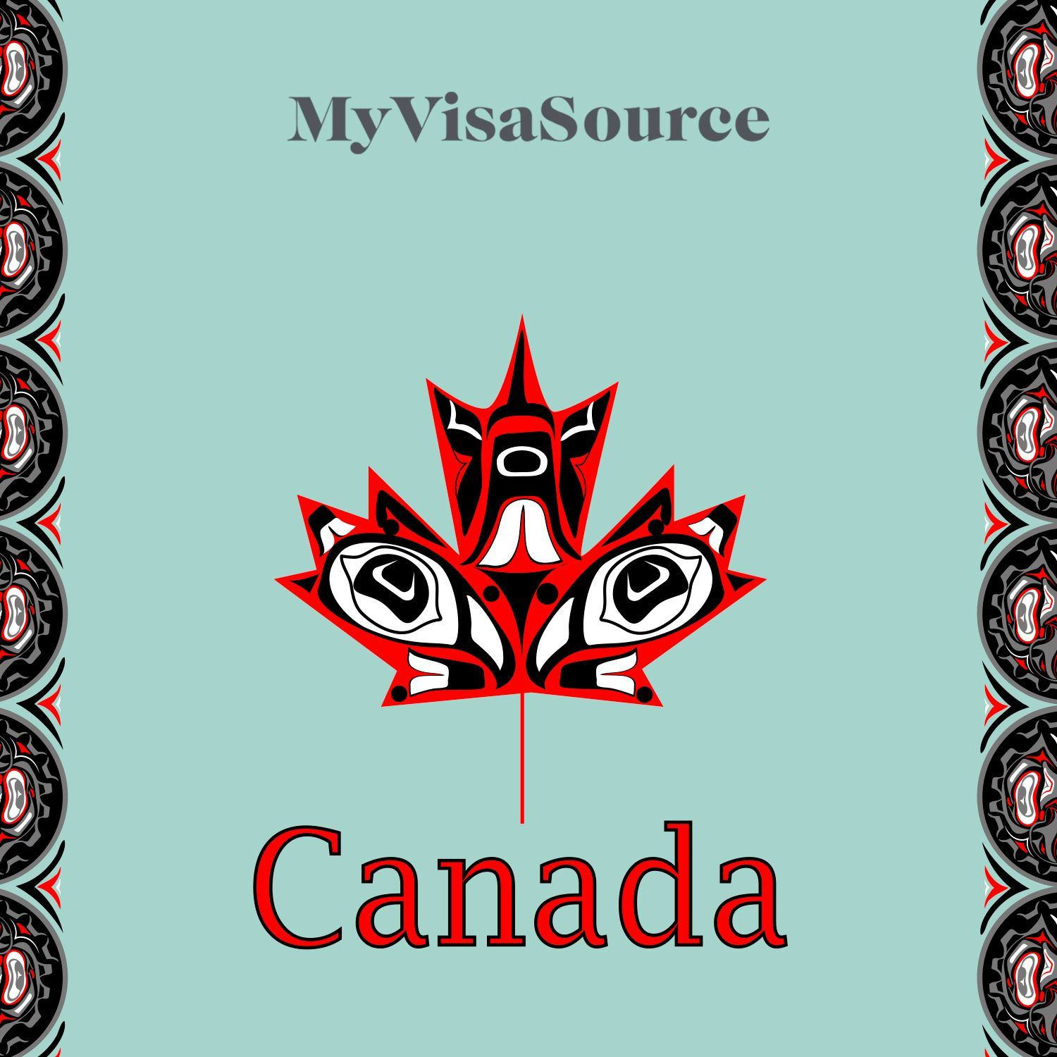 canadian flag design with first nations inuit design my visa source