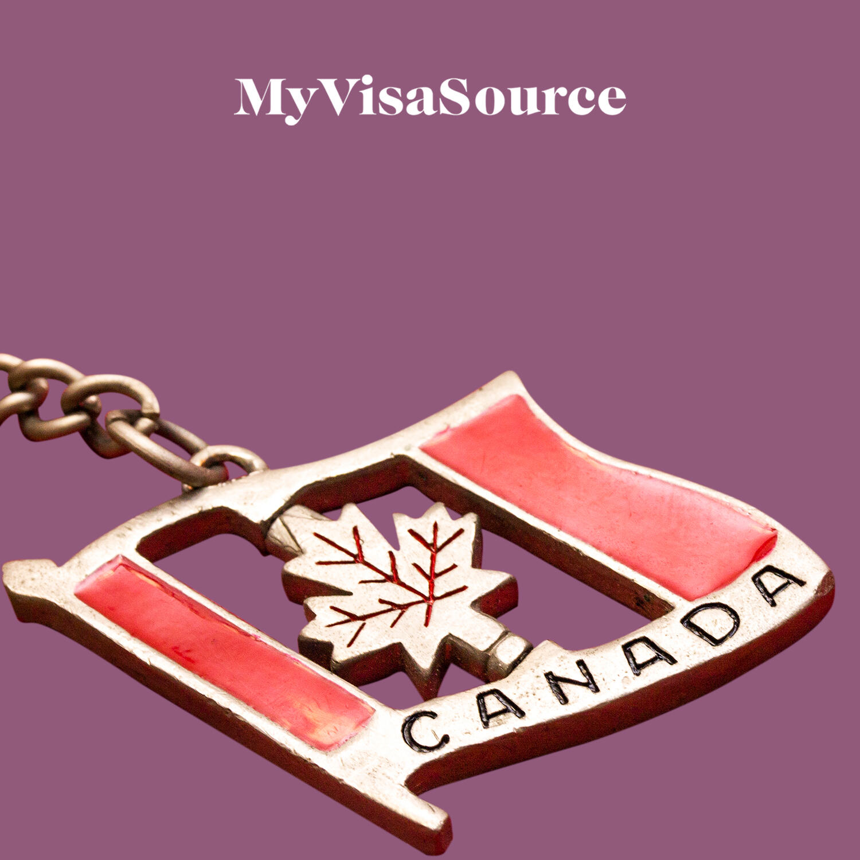 canadian flag keychain my visa source