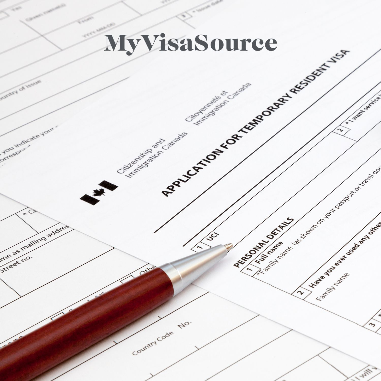 canadian visitor visa application my visa source