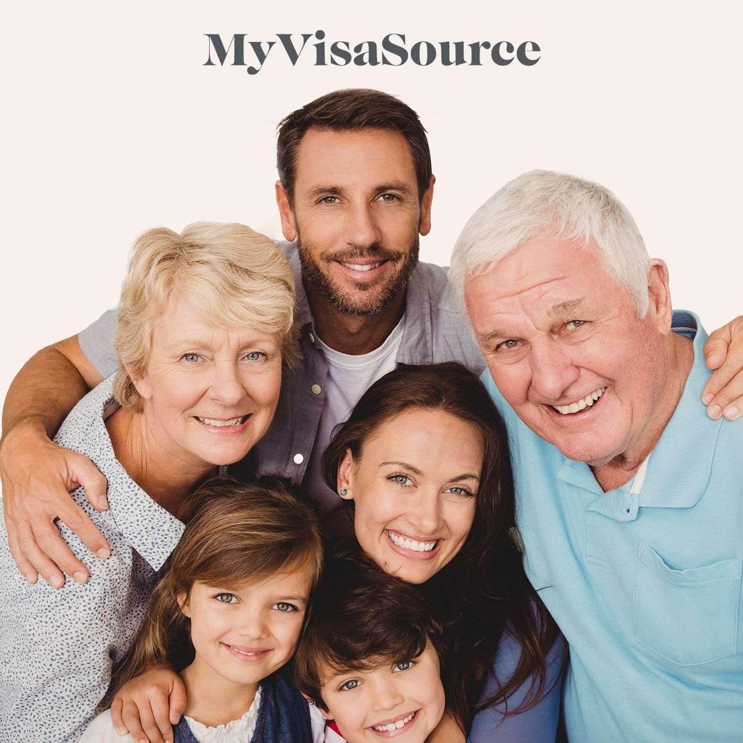 family with parents grandparents and kids my visa source
