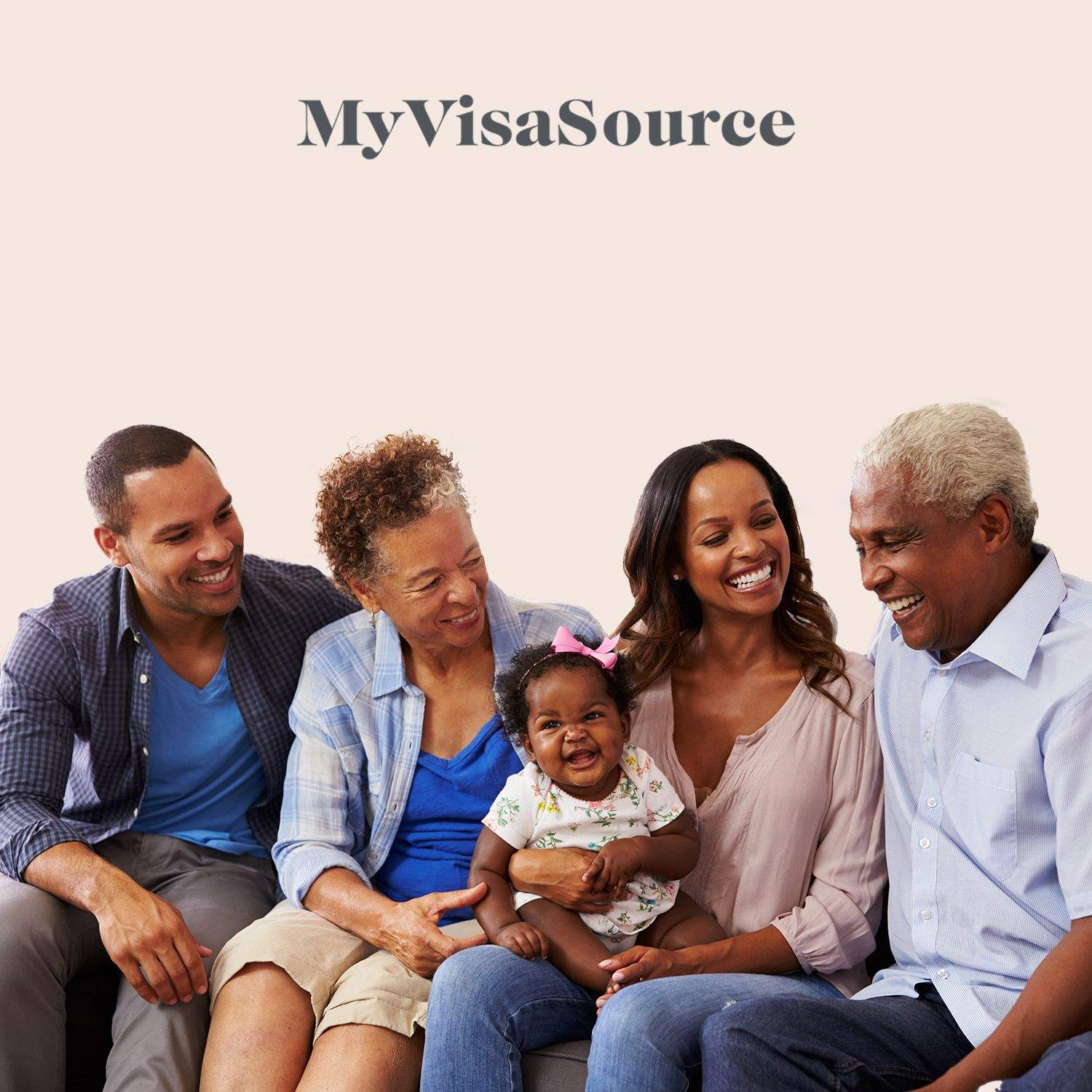 happy ethnic family sitting together my visa source