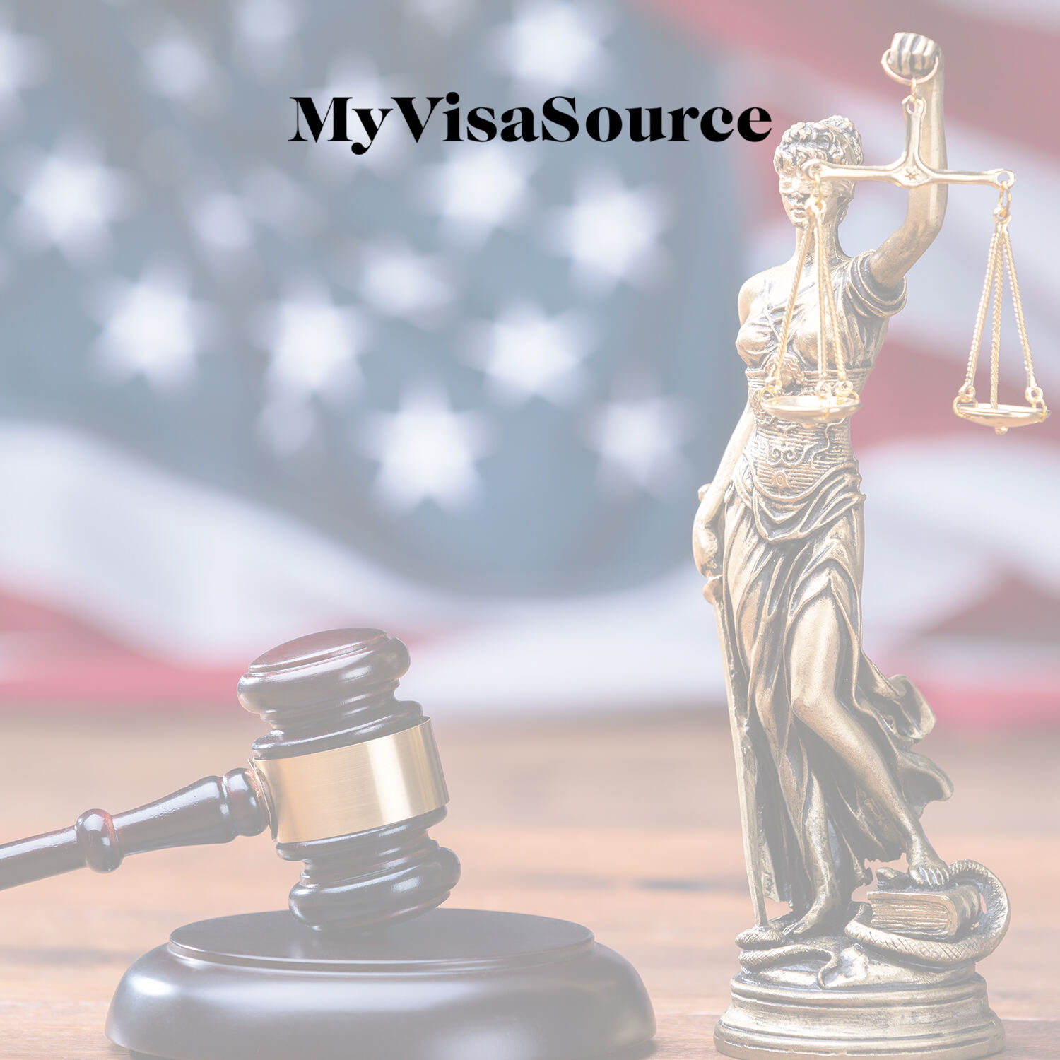 judges gavel and a lady of justice statue my visa source
