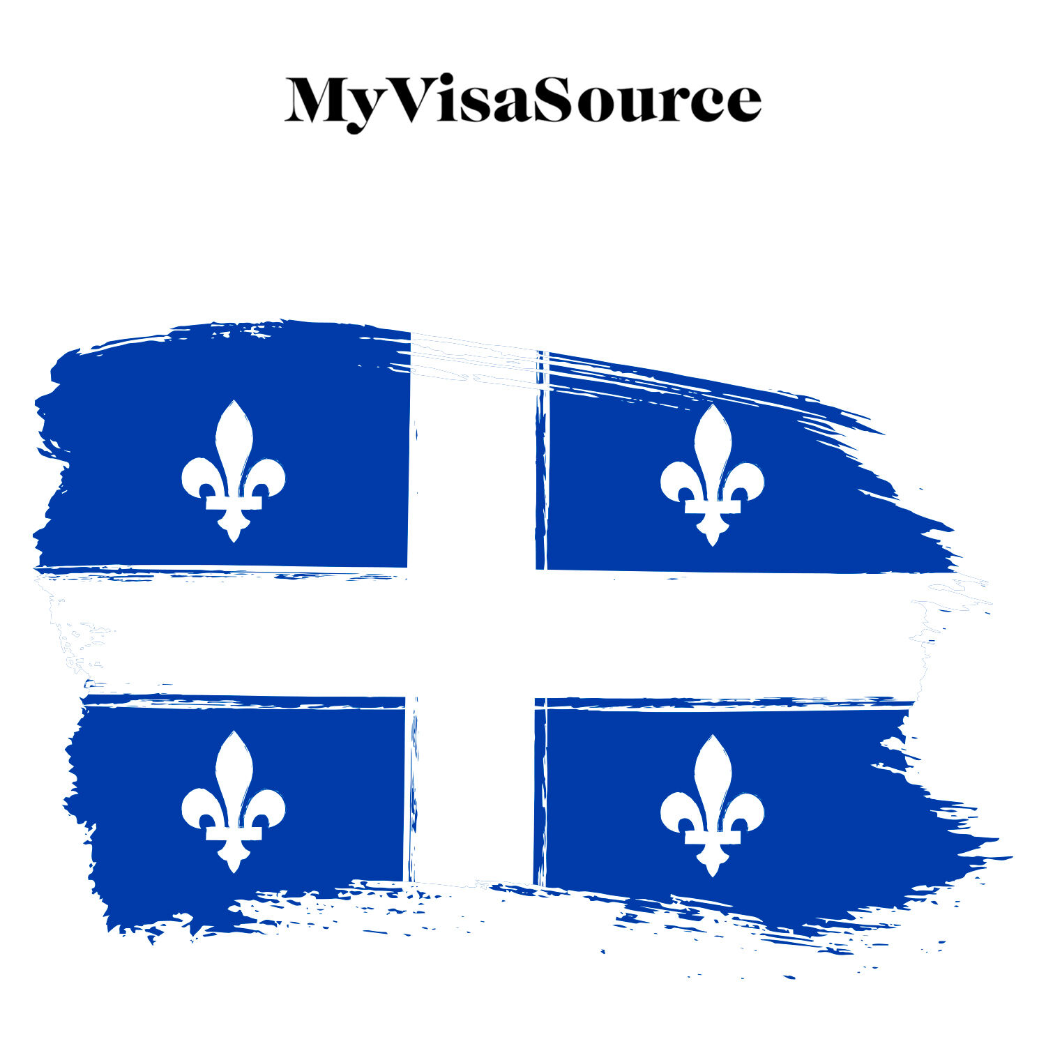 painting of quebec flag my visa source