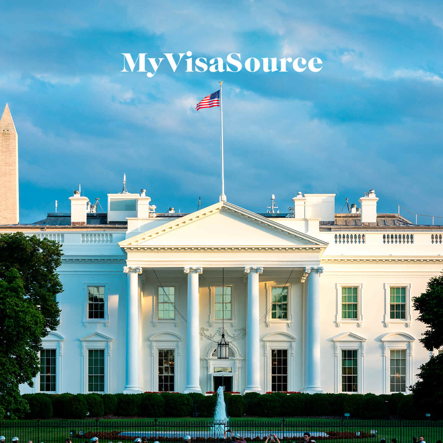 photo of the white house my visa source