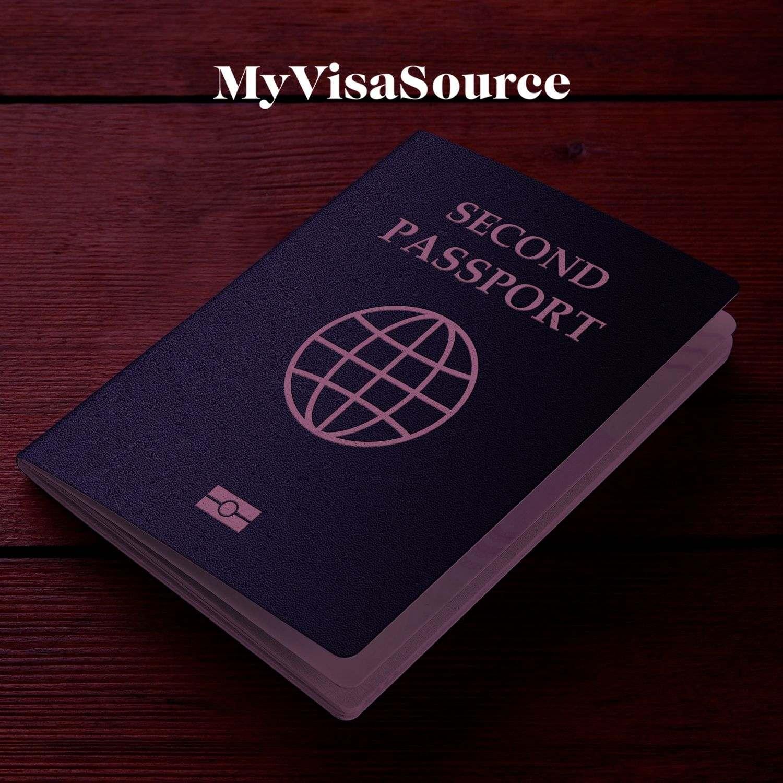second passport written on a passport my visa source
