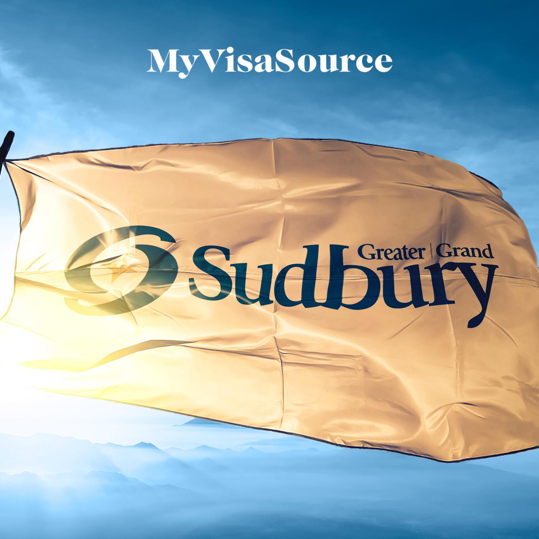 sudbury flag flying in the sunlight my visa source