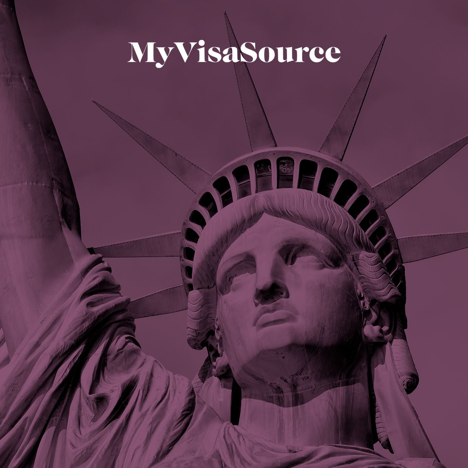 the head of the statue of liberty my visa source