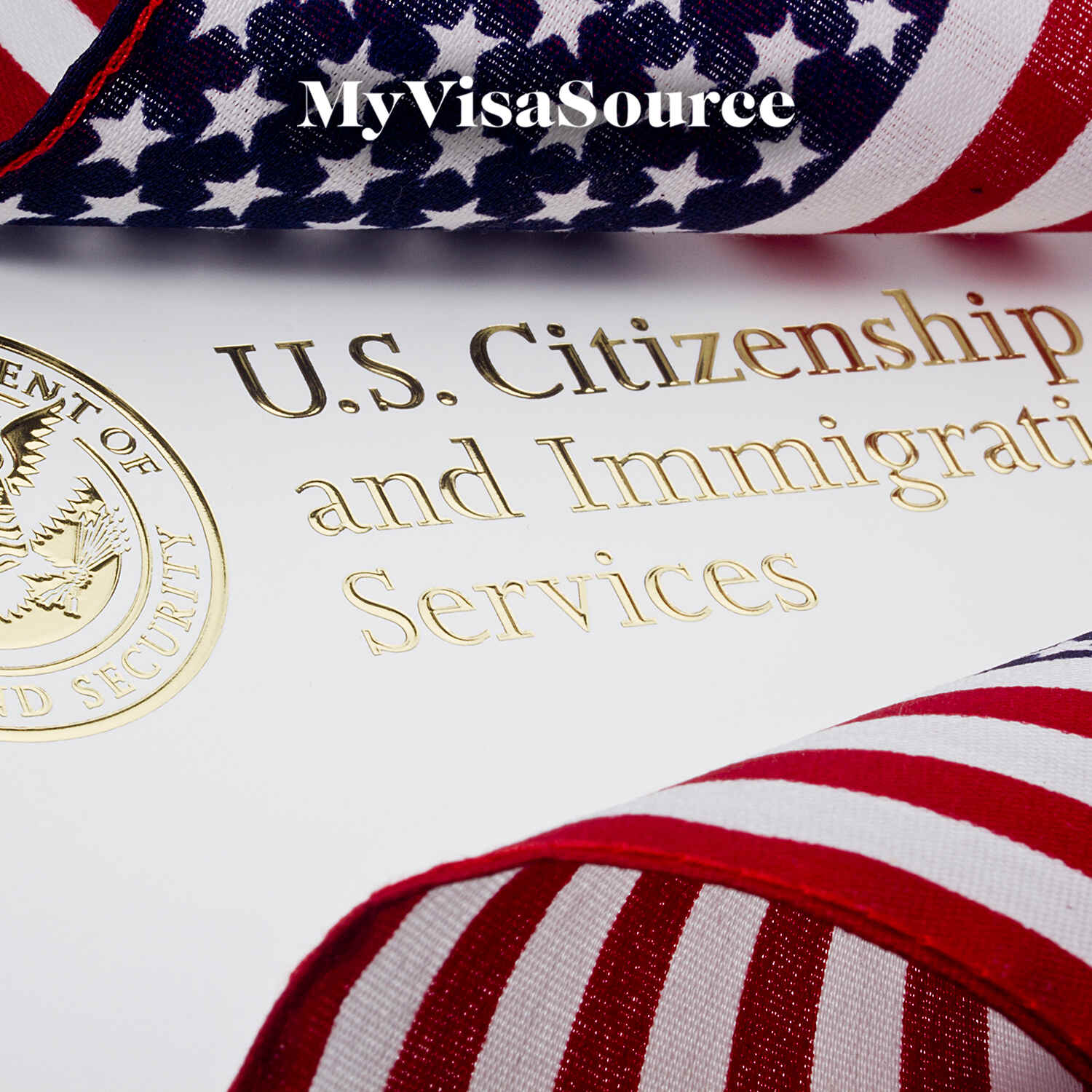 us citizenship and immigration services logo with usa flag my visa source