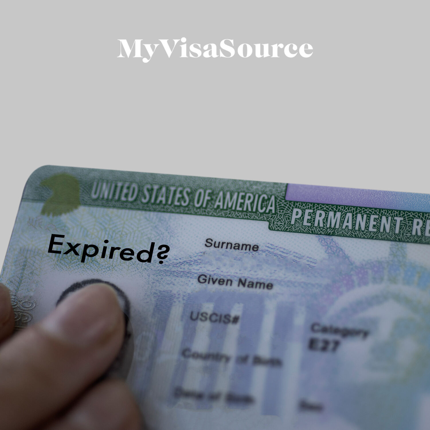 us permanent resident green card on a us flag my visa source