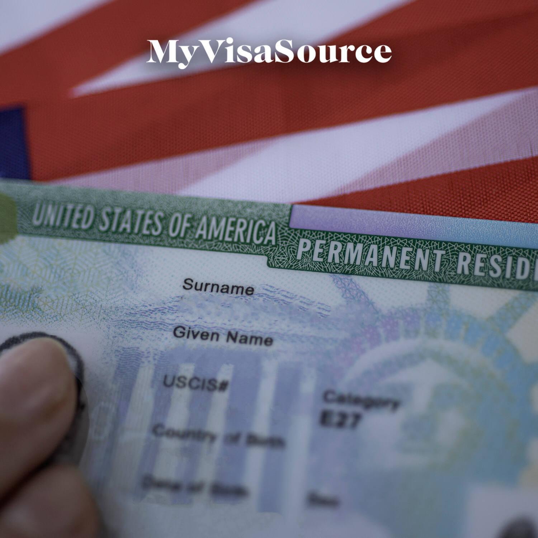 usa green card permanent resident card my visa source