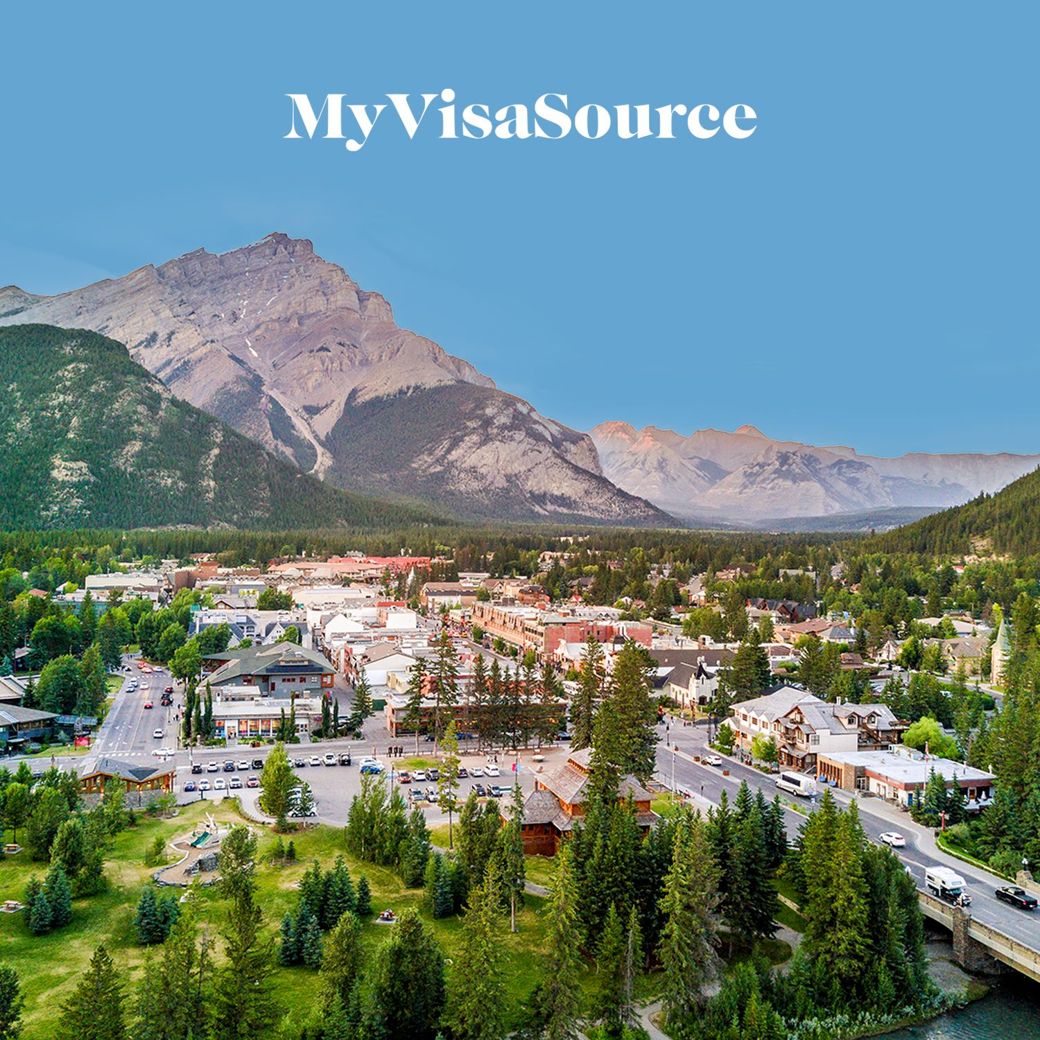 view of rural town and surroundings in canada my visa source