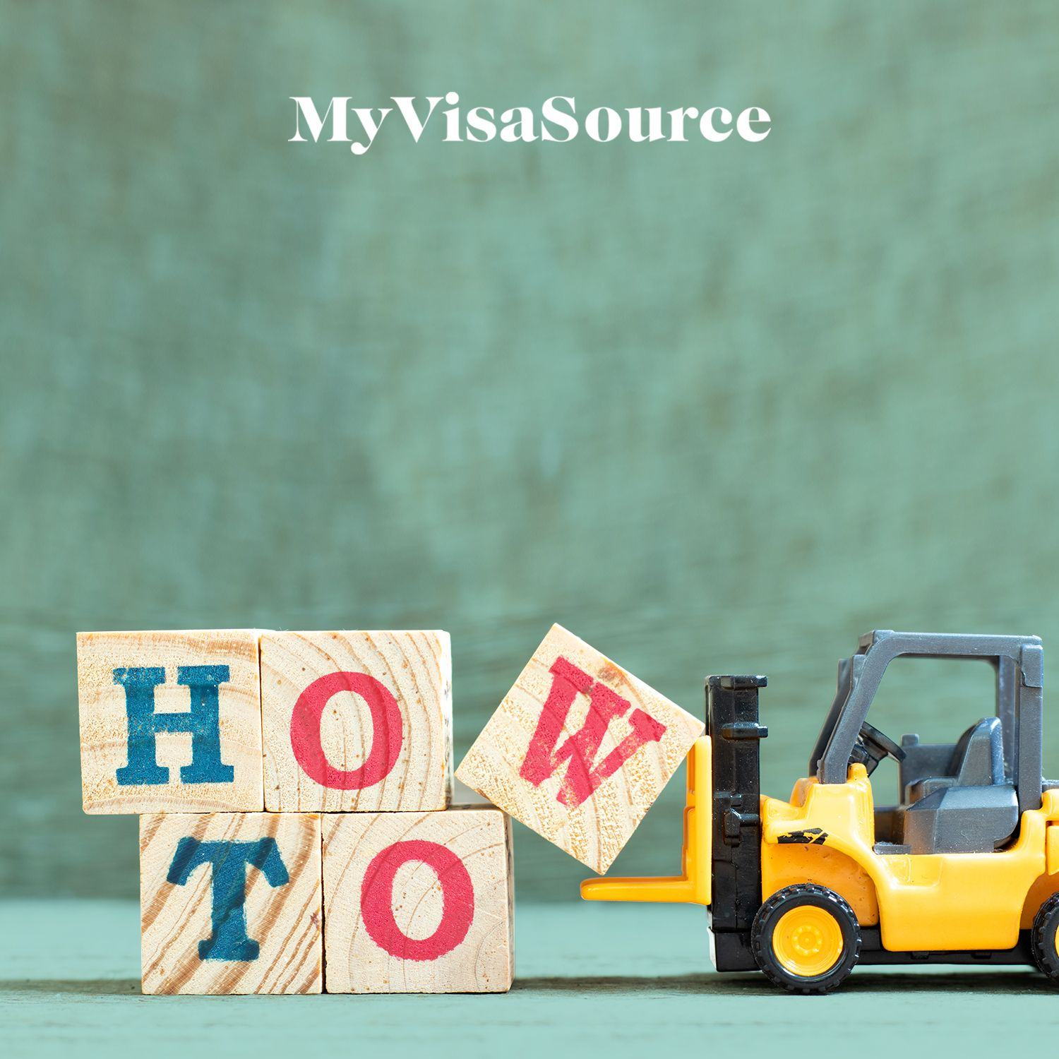 wooden blocks spelling how to pushed by toy forklift my visa source