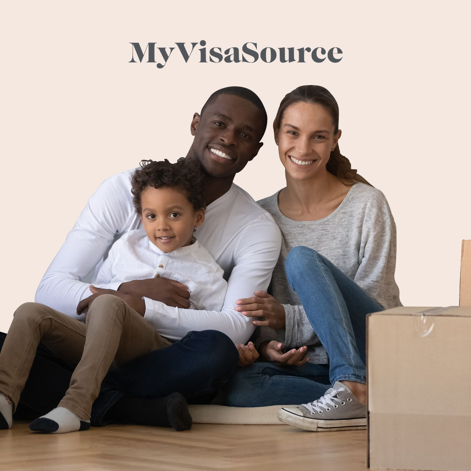 young ethnic family packing moving boxes my visa source