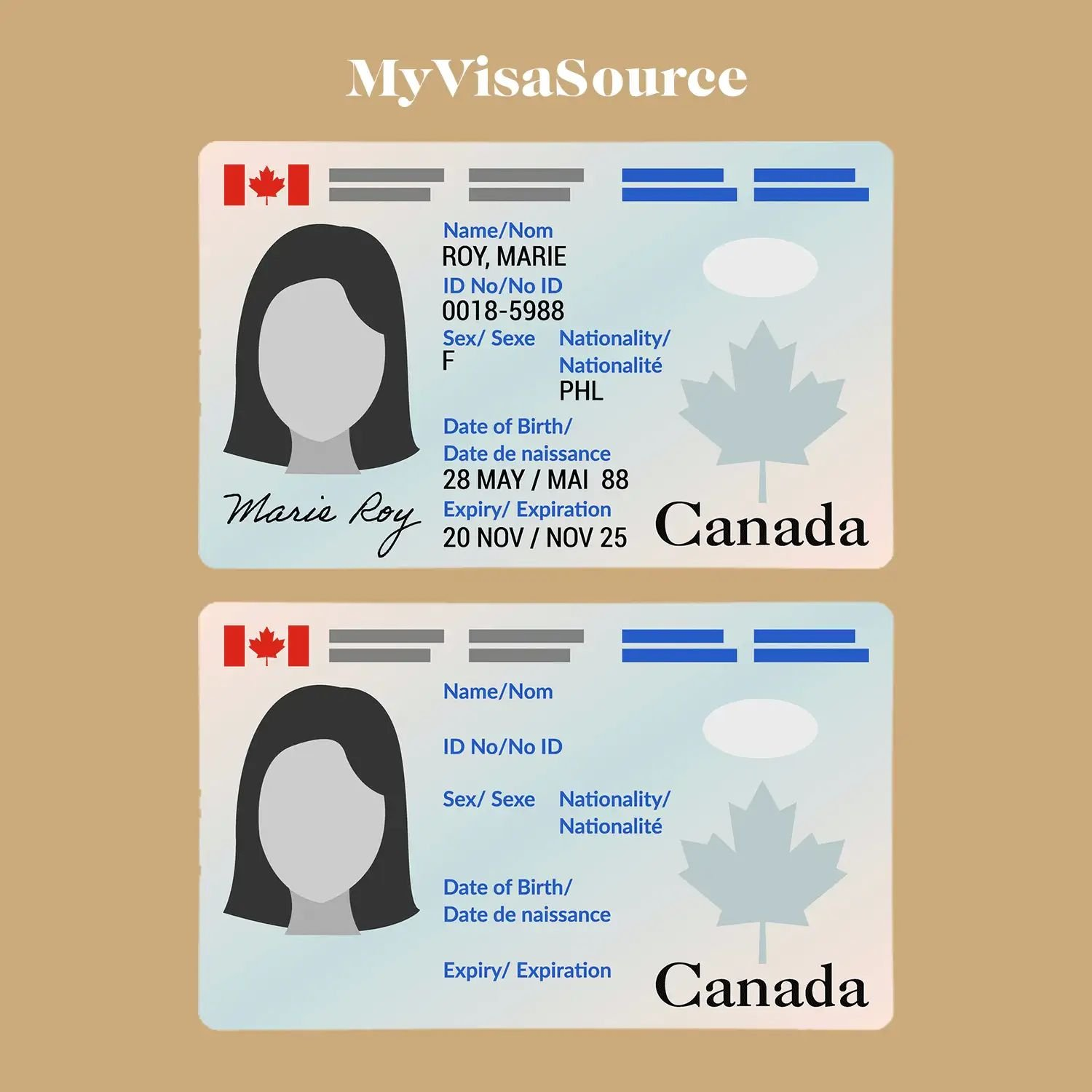 cartoonish-representation-of-a-canadian-permanent-resident-card-on-brown-background-by-my-visa-source .png