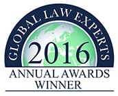 Global Law Experts Recommended Firm