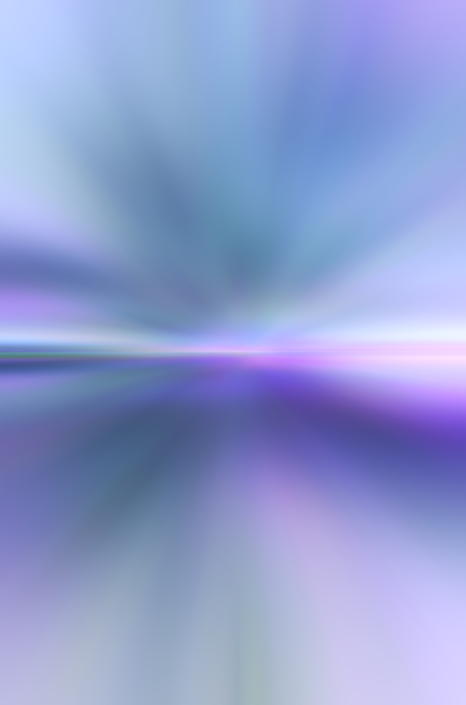 Ethereal horizon Otherworldly pastel abstract blur with predominance of blues for background with themes of mystery, eternity, the unknown