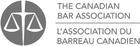 The Canadian Bar Association logo
